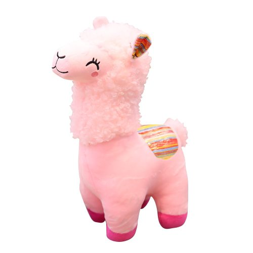 Plush Toy Cartoon Alpaca Design Adorable Soft Gift 3~6 Years Old Others Stuffed Animal Toy