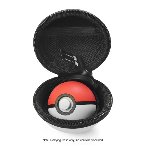 Protective Case Cover Storage Bag For Nintendo Switch Poke Ball Plus Controller Travel Carrying Box EVA Game White with Red OptionalItem Size: approx