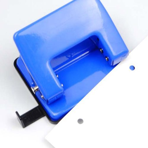 One Piece Paper Punch Plain Style Solid Color Simple Office Manual Copier