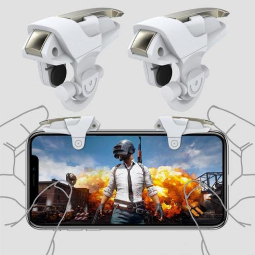 1 Pair Shooting Controller For Mobile Phone Fire the item's color may be slightly different from the pictures2 Please allow 05-2cm differences due to