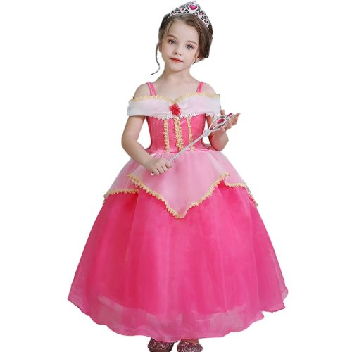 Toddler 's Color Block A Line Sweet Girl Pleated Cosplay Dress Sleeveless Toddler Girls 2Y Floral All