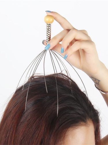 Head Massager Multifunctional Anti Stress Relieve Paid Home Office Health durable to useMassage head or points on bodyHelp to remove the muscle and