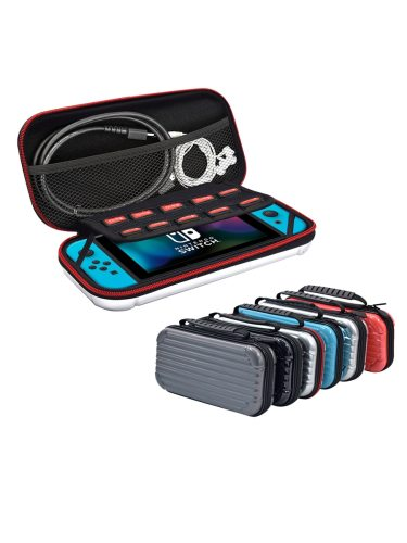 Game Console Case Portable Fashion Creative Storage Bag For Nintendo SpecificationsProduct size: 255*12*5cmWeight: 025kgMemory: 10 game slotsProduct