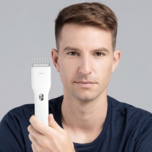 Xiaomi Enchen Electric Hair Trimmer Clipper USB Ceramic Hair Cutter Fast Charging Hair Men Trimmer Product Name: enchen reflection hair model: Black