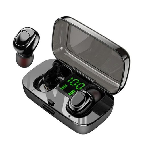 XG23 TWS Bluetooth Headphones Stereo Digital Display Business Included Microphone 1-2H Touch Control Bluetooth V50 Earbuds Type USB 2-3H Wireless 50