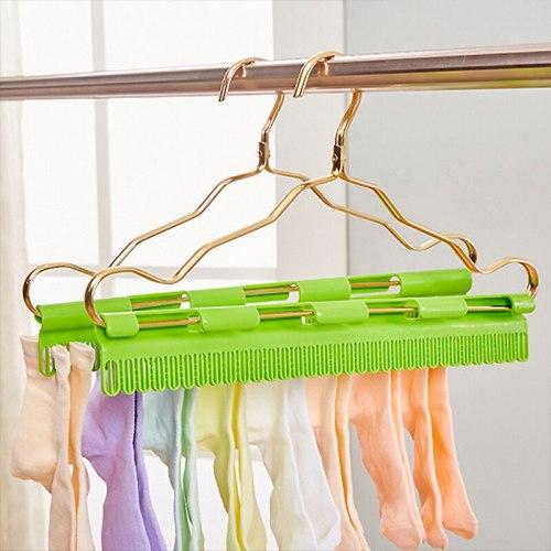 2 Pieces Home Hangers Multifunction Windproof Plastic material: plastic