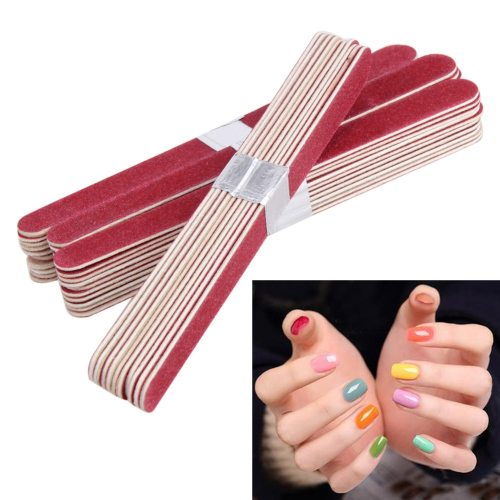 40Pcs Nail File Manicure Pedicure Buffer Sanding Files Nail Art Features:Essential nail art tools for filing nails before nail treatment / nail / Can