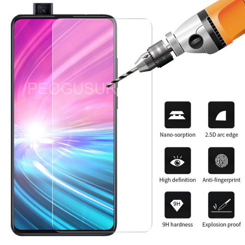 Xiao Red K20/K20 Pro Screen Protector Tempered Glass Clear Screen MI Fingerprint Proof HD Front Protector