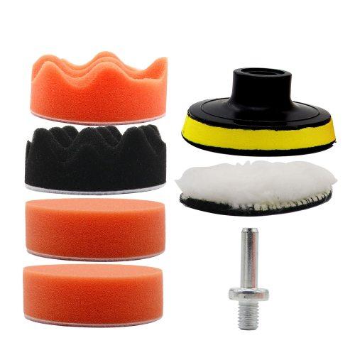 Polishing Car Buffing Pads Kit Cleaning Buffer Set Waxing Foam Sealing for Drill