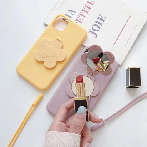 Mate 20/Mate 20 Pro/P20/Nova 4 Phone Cover With Lanyard Fashion Mirror Design Phone Simple Huawei Shatter-Resistant Others