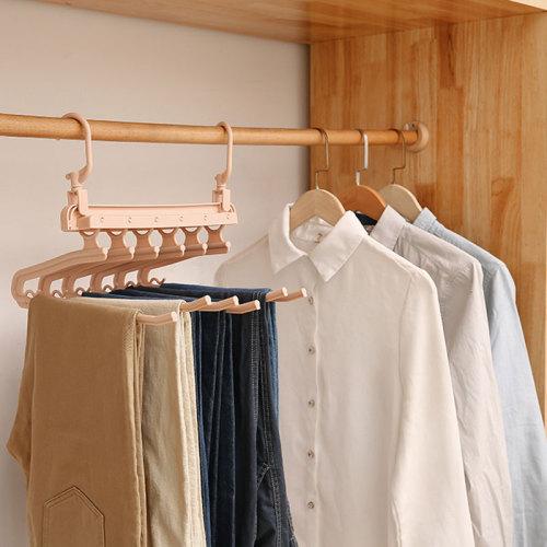 1 Piece Hanger Folding Multi-Layer Clothes Storage size:33*335cm