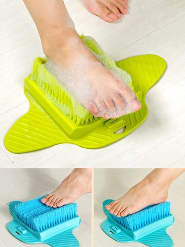 Foot Massage Brush Bath Scrub Exfoliating Foot Scrub Spa Shower Remove Dead Skin Cleaning SpecificationsItem Type: Feet massage BrushColor: Blue