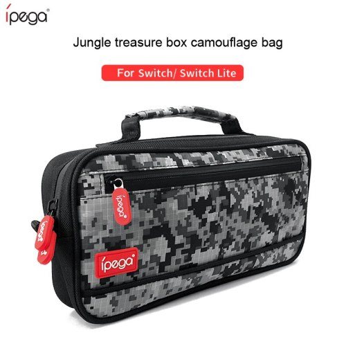 IPEGA Carry Case Portable Travel Bag For Storage Bag more effectively protect the safety of your Switch host and accessories●Handle design Hardcore