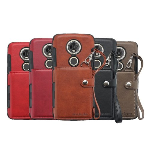 MOTO E5 Plus Phone Case Mobile Phone Protection Soft Lanyard Motorola Business