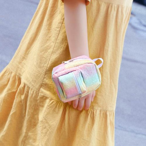 1 Piece Arm Bag Mini Backpack Design Keys Cell Phone Bag For Size:14*95*55cm