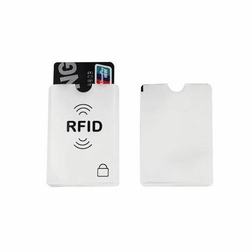 10Pcs Anti RFID Blocking Reader Card Cover Aluminum Credit Card Sleeve Holder ID Bank Card thanks!