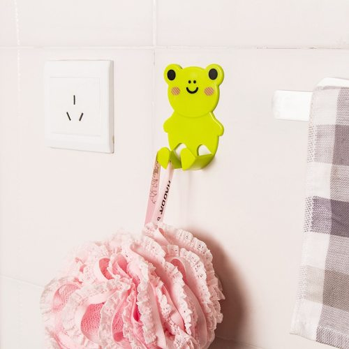 4Pcs Plug Racks Cartoon Pattern Cute Creative Durable Storage Product size: 9*6*3cmCommodity material: PP