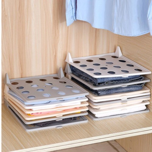 3 Pieces Home Clothes Folding Boards Creative Stack-Able Clothes 1