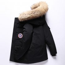 Winter Feather Men's down Jacket Short Canada down Jacket Outdoor Workwear Thick Warm Men's Winter Jacket