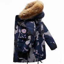 High Quality -40 Celsius Down Jacket Keep Warm Men's Winter Thick Snow Parka Overcoat Camouflage White Black Duck New Fashion