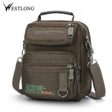 New 3707W  Men Messenger Bags Casual Multifunction Small Travel Bags Waterproof Leisure Shoulder Fashion Military Crossbody Bags