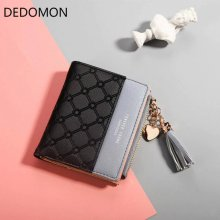 Tassel Wallet Female Coins Cute Wallet Women Small Leather Women Wallets Zipper Purses Portefeuille Wallet Female Purse Clutch