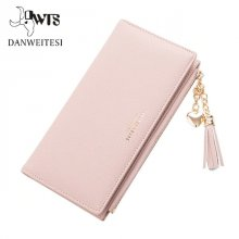 2018 Wallet Female For Coins Cute Wallet Women Long Leather Women Wallets Zipper Purses Portefeuille Wallet Female Purse Clutch