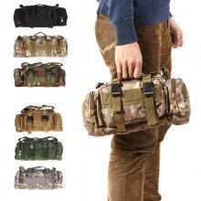 3L 6L 600D Waterproof  Waist Bag Oxford Climbing Bags Outdoor Military Tactical Camping Hiking Pouch Bag mochila military bolsa