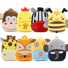 New Kawaii Stuffed Plush Kids Baby Toddler School Bags Backpack Kindergarten Schoolbag for Girls Boys 3D Cartoon Animal Backpack