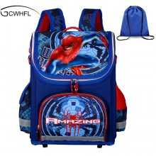 New Children School Bags For Boys Orthopedic Waterproof Backpacks Child Boy Spiderman Book bag Satchel Knapsack Mochila escolar