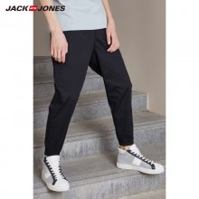 JackJones Men's Summer Cotton Drawstring Sports Pants Business Casual Stretch Slim Classic Trousers Menswear 218314540-219114565