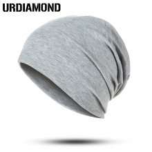 URDIAMOND 2019 Winter Hat Unisex For Woman Man Hip Hop Caps 18 Colors Casual Sloid Cotton Outdoors Skullies Beanies