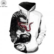 Newest Venom 3D Printed Print Hoodie Men's and Women's Tops Series Sports Hoodies Venom Patterns Fashion Hooded Tops Sweatshirts