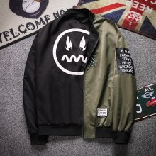 Men Reversible Jacket 2019 Spring Autumn New Casual Double-faced Baseball Jacket Men High Quality Bomber Jacket Coat for Male 13