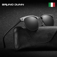 Bruno Dunn Brand design Retro Aluminum Sunglasses Polarized Male Sun Glases For Men/Women Ray lunette de soleil homme femme 2018