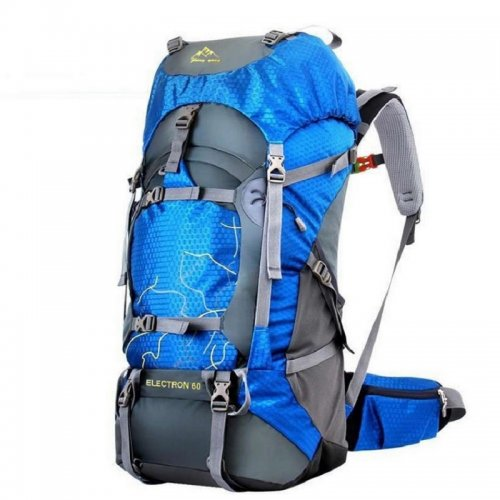 FengTu 60L Hiking Backpack Daypack For Men And Women Waterproof Camping Traveling Backpack Outdoor Climbing Sports Bag