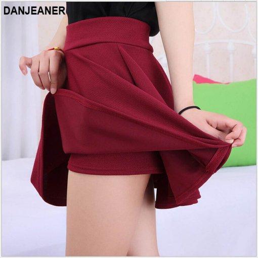 2015 Hot Women Bust Shorts Skirt Pants Pleated Plus Size