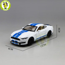 1/32 Ford Mustang Shelby GT350 Diecast Model Car Toys Kids Boys Girls Kids Gifts