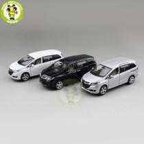 1/32 JACKIEKIM Honda Odyssey MPV Diecast Metal Model CAR Toys for kids children Sound Lighting Pull Back gifts collection hobby