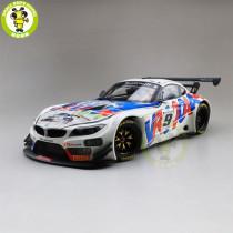 1/18 MINICHAMPS 2015 BMW Z4 GT3 24H de Spa Zanardi/Spengler/Glock #9 Diecast Model Car Toys Gifts