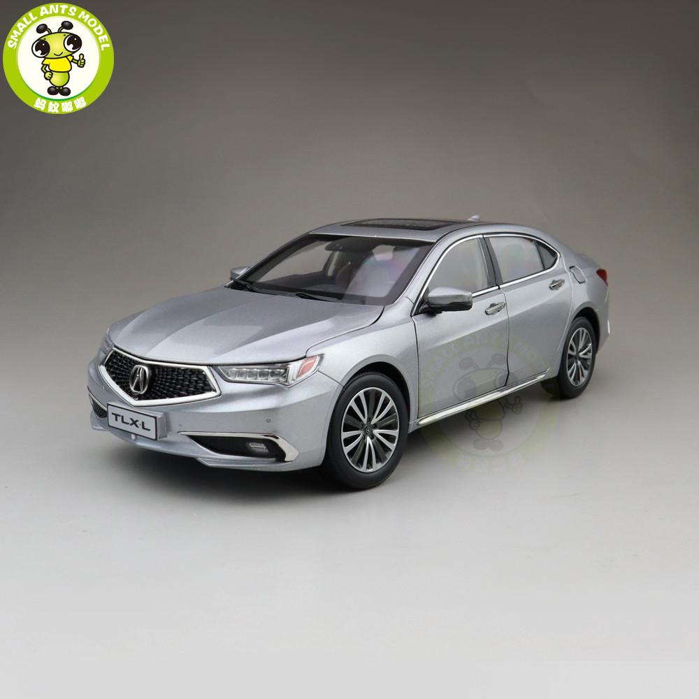 1/18 Honda ACURA TLX L TLX-L Diecast Metal Car Model Toys