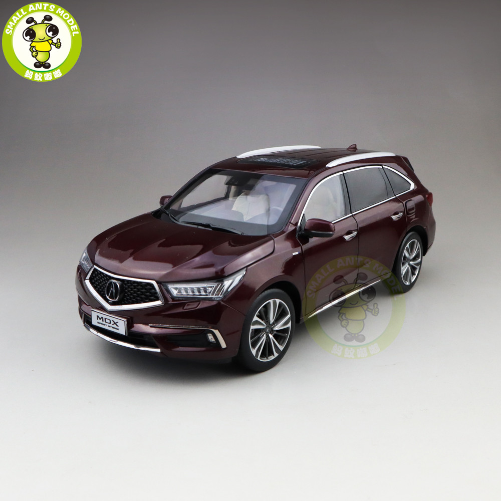 1/18 Honda ACURA MDX Sport Hybrid SUV Diecast Metal Car