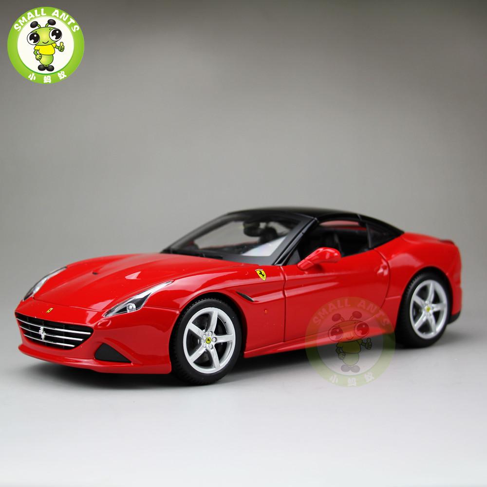 1/18 Bburago Ferrari California T Closed Top Diecast Model ...