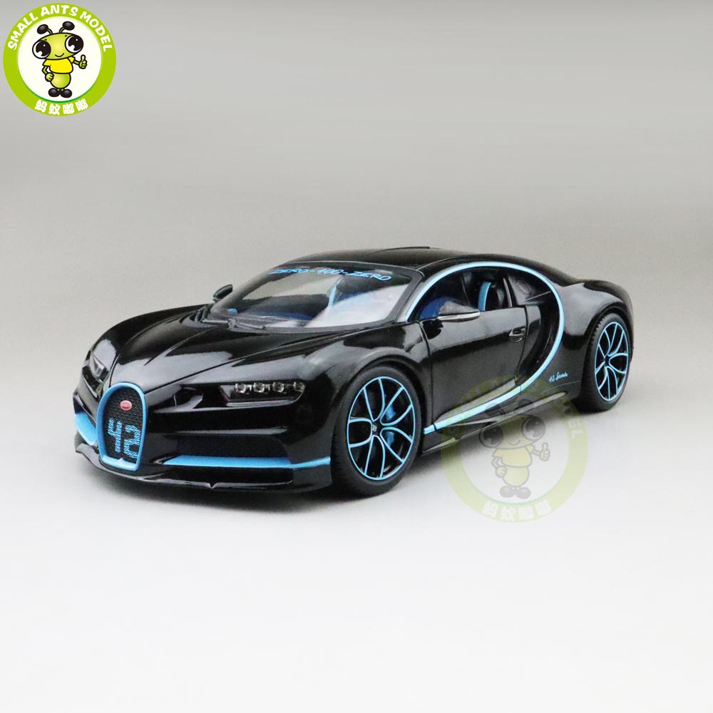 Bburago 1 18 Bugatti Chiron Diecast Metal Model Roadster