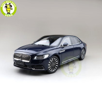 1/18 Lincoln Continental Diecast Model Car Toys Boys Girls Gifts
