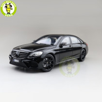 1/18 Norev Benz S Class AMG Line 2018 Diecast Model Cars Toys Boys Gifts