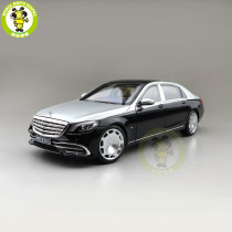 1/18 Norev Benz Maybach S650 2018 Diecast Model Car Toys Boys Gifts