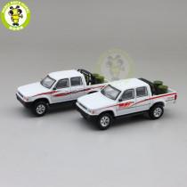 1/64 JKM Toyota Hilux Pickup Trucks Diecast Model Car Toys Boys Girls Gifts
