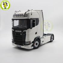1/18 NZG SCANIA V8 730 S Truck Trailer Diecast Model Car Truck Toys Gifts