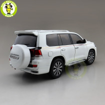 1/18 Toyota Land Cruiser 200 LC200 Middle East Version Spare Tire KENGFAI Diecast SUV Car Model Toys Boys Girls gifts